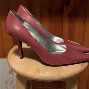 Nine West Pink(Rose) Pumps Leather